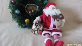 «Санта Клаус с оленем»