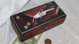Купюрница Оружие и деньги.