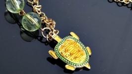 Ожерелье Черепашка