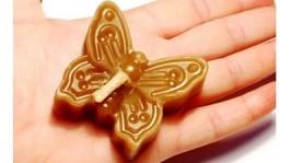Бабочка ароматическая свеча