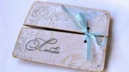 Открытка - коробочка Люблю