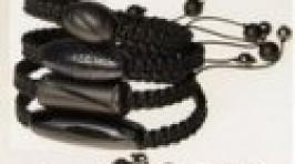 Браслет мужской шамбала черный