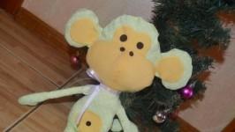 Новая Мягкая игрушка Обезьянка Символ Нового года 2016