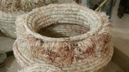 Плетеный бочонок