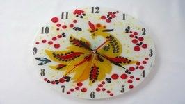 Часы настенные Арт-35 «Птица счастья»