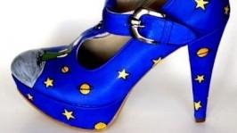 Росспись обуви 3