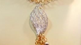 Цепочка с подвеской - золото 1