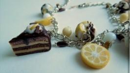 Браслет из полимерной глины Шоколадное наслаждение
