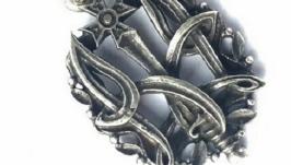 Кулон Тризуб з Козацьким Хрестом