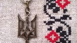 Кулон «Тризуб», готичний, бронза