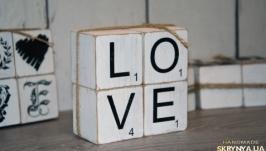 Комплект кубиков «LOVE» art 0209