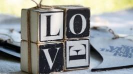 Комплект кубиков «LOVE» art 0211