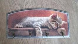 Ключница ′′Кошка Мурка′′