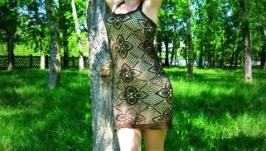 Платье Шоколадка