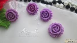 Набор -Фиолетовые розы