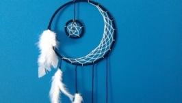 7 Crescent Moon Dream Catcher : You Pick the Color