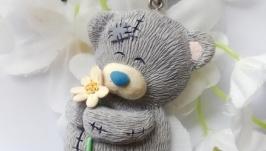 Брелок Цветочные сны мишутки