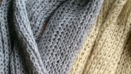 Вязаний шарф снуд