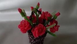 Міні-композиція Корзинка з трояндами
