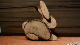 Заяц деревянный