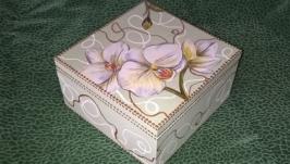 Шкатулка лилии