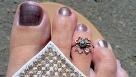 Кольцо на палец ноги Клевер