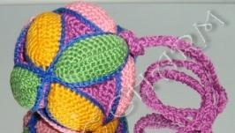 Игрушка-головоломка мячик-пазл