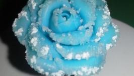 Кольцо Роза в снегу