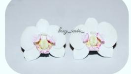 Серьги Орхидеи
