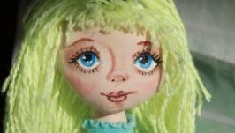 Авторская интерьерная кукла Аня