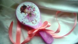 Міні масажка «Рожева мрія» декупаж