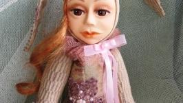 Авторская кукла тедди-долл Лилу