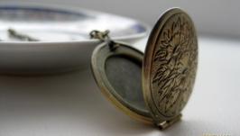 «Цветочный» медальон для фото