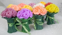 тут изображено Мыло Букет роз