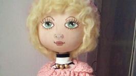 Кукла Зоя- текстильная кукла ручной работы