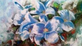 Картина маслом Цвет лилии
