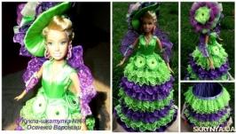 Лялька кукла шкатулка №69 (на замовлення)