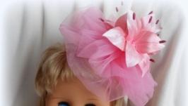 Вуалетка Розовое облачко