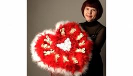 Букет из мягких игрушек ′Экспрессия любви′