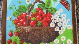 Картина Вкус лета вышита чешским бисером