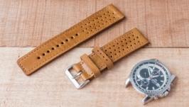 Кожаный ремешок для наручных часов