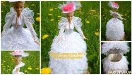 Лялька шкатулка №72 подарунок на весілля або день народження
