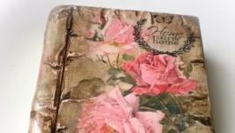 Книга шкатулка Розы