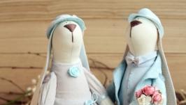 Романтическая пара зайчиков Нежность
