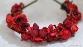 Червоні полунички