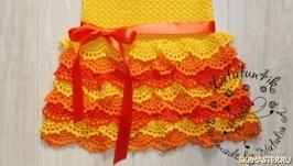 Детское платье Яркое лето