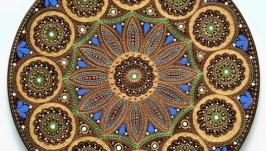 тарілка декоративна «Танок Літа»