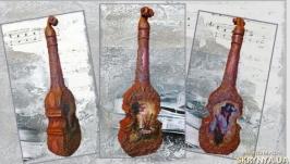 Декоративная бутылка ′Под музыку Вивальди′