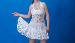 Платье Белоснежная феерия