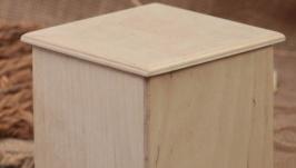 Фанерная коробка ручной работы. Коробка для специй